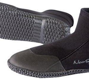 NeoSport Wetsuits Premium Neoprene 5mm Low Top Pull On Boot