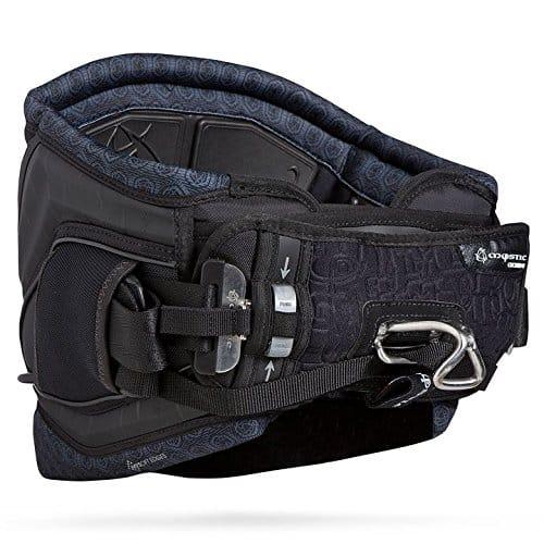 2014 Mystic Code 01 BOA Clicker Dial Waist Harness Bundled with WBK Kitesurfing Key Fob Kiteboarding [Color: Black]