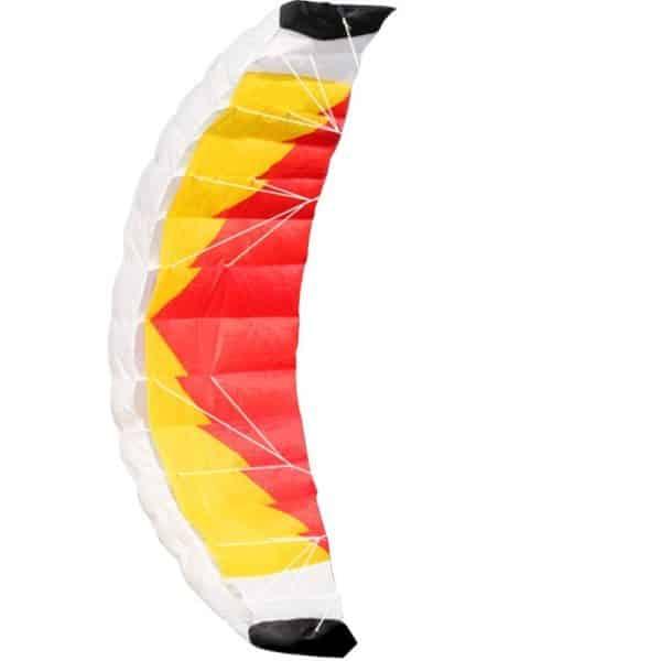 Hengda Kite NEW 1.4m Power Kite Outdoor FUN Toys Parafoil Parachute Dual Line Surfing ORANGE