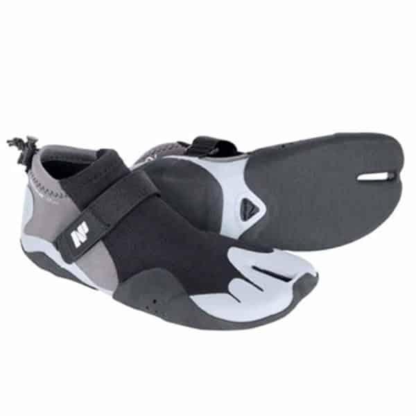 2018 Neil Pryde Edge Low Cut Reef Split Toe Hook & Loop Strap 2mm Wetsuit Boots