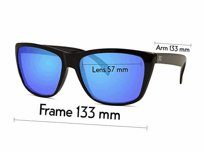 d3cd13634431 KZ Floating Polarized Classic Wayfarer Sunglasses