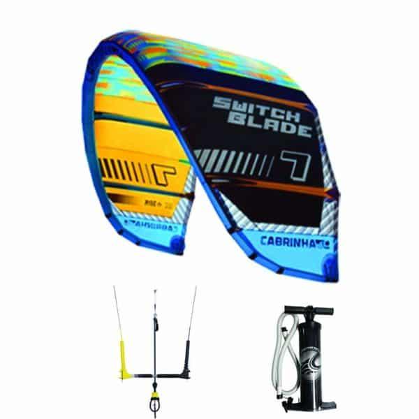 2016 Switchblade Cabrinha Kite and Free Bar Package