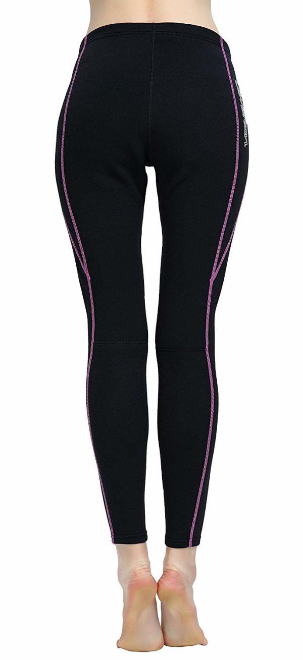 Lemorecn Wetsuits Pants 1.5mm Neoprene Swimming Canoeing Pants