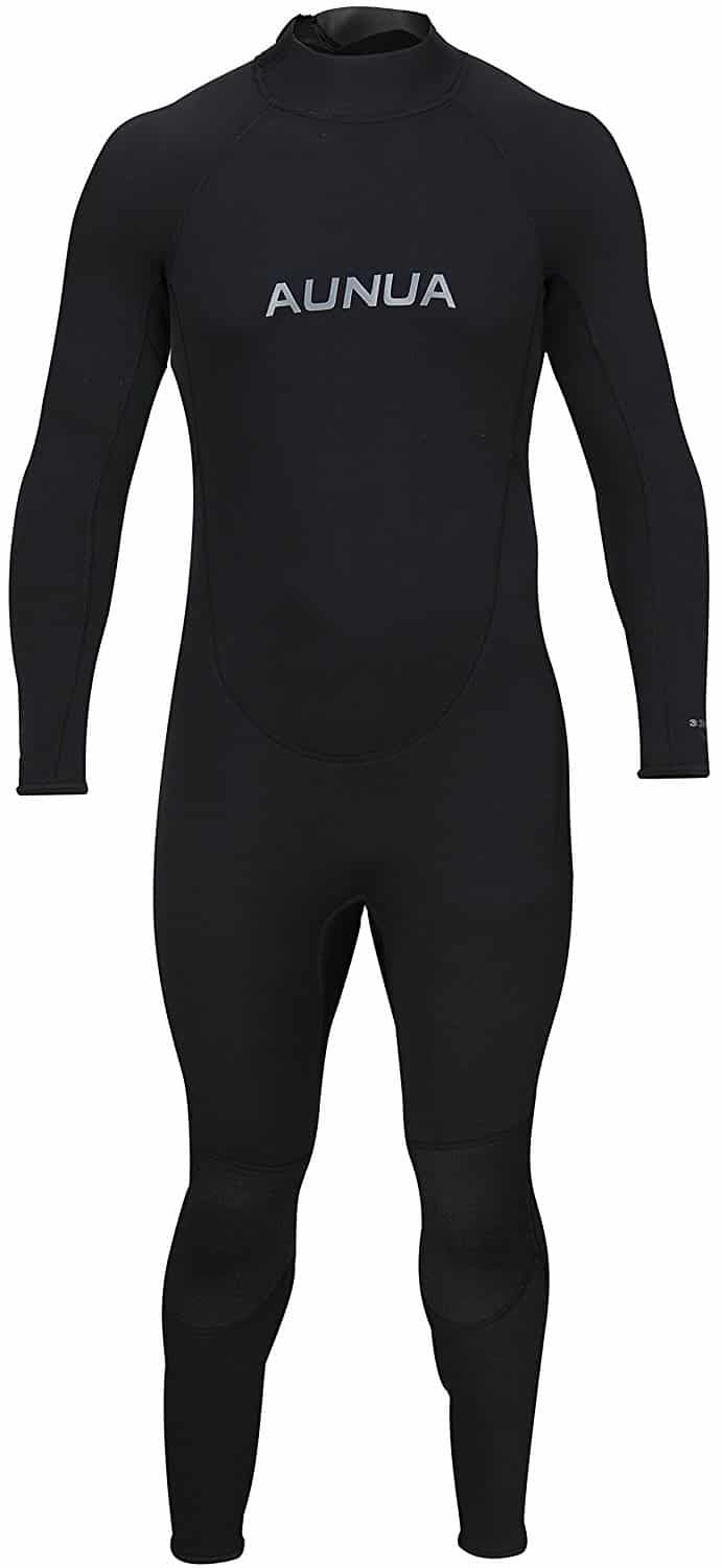 e78a4db76a Aunua Men s 3 2mm Premium Neoprene Diving Suit Full Length Snorkeling  Wetsuits