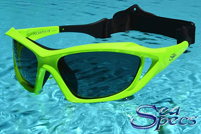 15f2312747 SeaSpecs Stealth Extreme Sports Floating Sunglasses