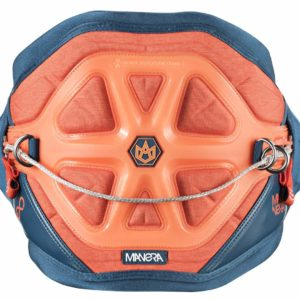 Manera Exo Kiteboarding Harness, Heather Orange/Blue