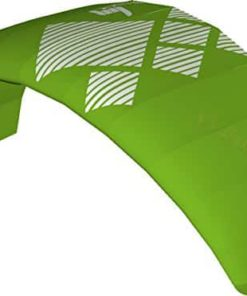 HQ4 Fluxx 1.8M Trainer Kite TR plus Safety Leash Bundle (4 items) Includes Safety Wrist Leash System + WindBone Kite Lifestyle Decals + Key Chain : Control Bar Foil Traction