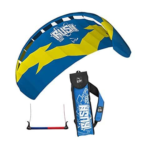 HQ TRAINER POWER KITE 2.0 RUSH 200 WITH CONTROL BAR NEW LINE SPORTS KITESURFING by Powerkites