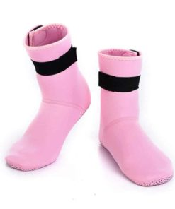 Shoespace 3mm Neoprene Water Sock with Adjustment Velcro for Scuba Diving, snorkeling, Family Outdoor Activities