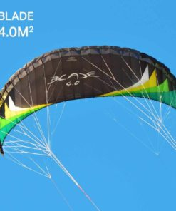 Flexifoil 4.0m2/4.9m2/6.5m2 4-Line Blade Sport Kite with 90 Day! By World Record Winning Designer. Safe, Reliable & Durable Power Kiting & Traction Kiting - Outdoor Fun