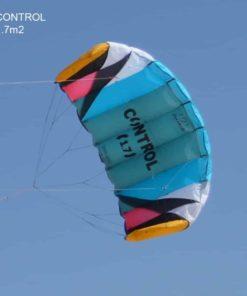 FLEXIFOIL 1.7m2/2.4m2/3.3m2 Control Kitesurf Trainer Kite inc. Bar and Lines