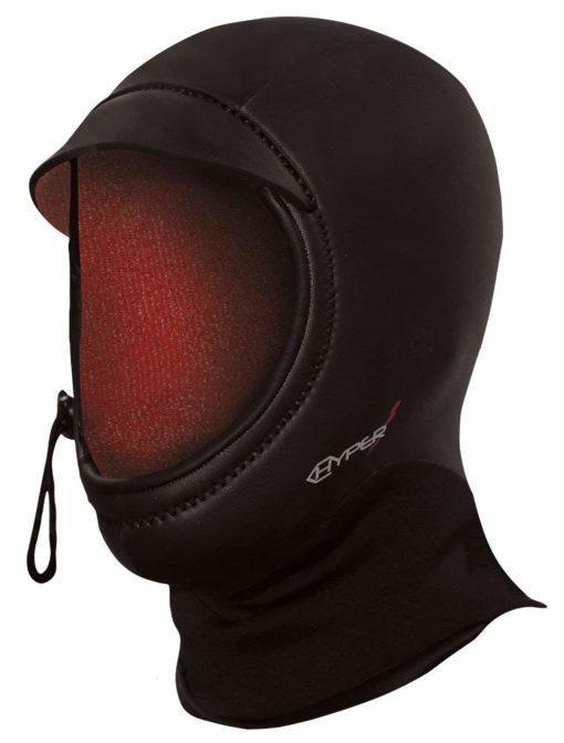 Hyperflex 5mm Bibbed Wetsuit Hood w/Flush Guard