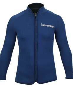 Lemorecn Adult's 3mm Wetsuits Jacket Long Sleeve Neoprene Wetsuits Top