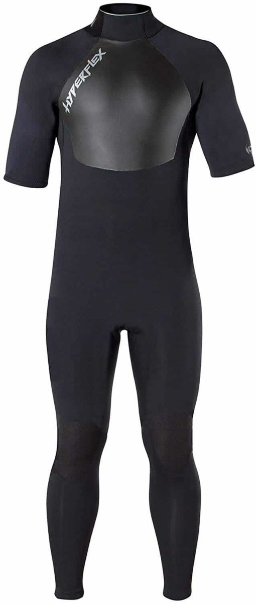 Hyperflex Wetsuits Men's Voodoo 2.5mm Short Sleeve Fullsuit