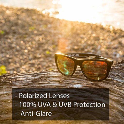 KZ Floating Polarized Classic Wayfarer Sunglasses