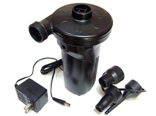 UAAC Kiteboarding Rechargable High Volume Air Pump | Pumps to 1 psi