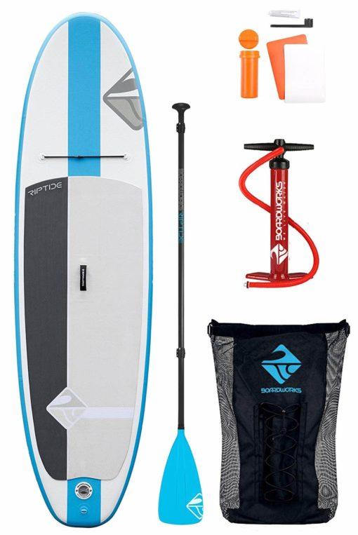 Boardworks Shubu Riptide Inflatable Stand-Up Paddleboard - 2018