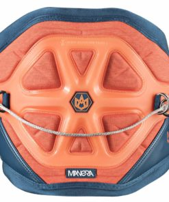 Manera Exo Kiteboarding Harness, Heather Orange/Blue