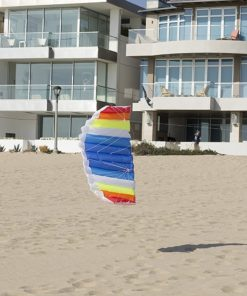 AIRFOIL STUNT SPORT KITE Dual-Line with Strings, Handles, Carry Bag, Winder, FREE Flying Tips eBook, Easy Assembly by Moon Glow Sports