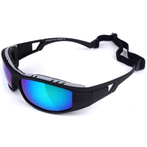 Base Camp UV Protection Outdoor Sports Sunglasses Goggles with Detachable Head Band