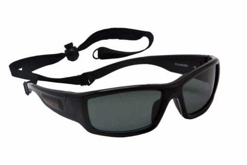 Maelstorm Multipurpose Water and Land Sport Sunglasses Indica Pitch Black for Kiteboarding Jet Skiing Boating Paddling Fishing Kayaking Beach Driving Biking Cycling Daily Wear