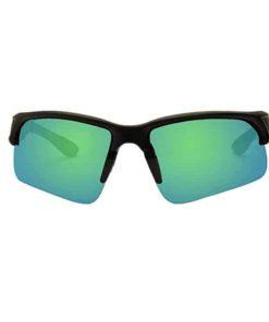 KZ Floating Polarized Sport Sunglasses for Men and Women (Black Frame, Green Lenses)