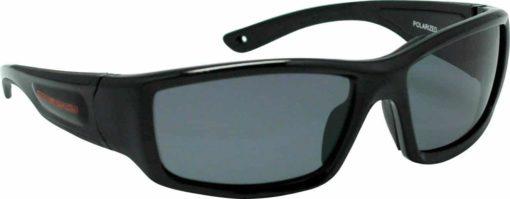 Maelstorm Multipurpose Water and Land Sport Sunglasses Indica Pitch Black for Kiteboarding Jet Skiing Boating Paddling Fishing Kayaking Beach Driving Biking Cycling Daily Wear