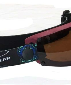 Spex Amphibian Eyewear- Limited Edition Maroon with All Weather Polarized Lenses- Kitesurf, Jetski, Water Sport Goggles
