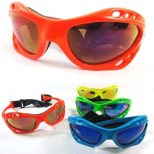 1 Kitesurfing Kiteboarding Men Sunglasses Sport UV400 Fashion Shades Wrap Neon